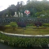 Photo taken at Universitas Pendidikan Indonesia (UPI) by Putri D. on 6/13/2013