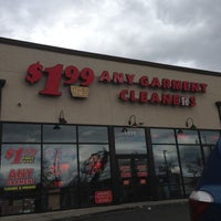 Photo taken at $1.99 Any Garment Cleaners by PapiCaine M. on 10/12/2012