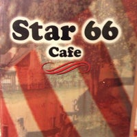 Photo taken at Star 66 Cafe by Darrell A. on 2/11/2013