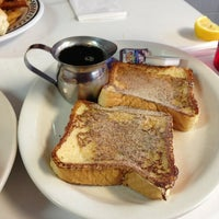 Photo taken at New York Diner & Bagel by Anwara A. on 1/22/2013