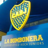 """Foto tirada no(a) Estadio Alberto J. Armando """"La Bombonera"""" (Club Atlético Boca Juniors) por Joana Angélica S. em 12/30/2012"""