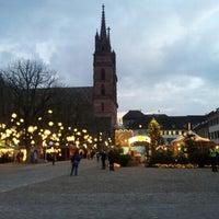 Photo taken at Münsterplatz by Barry H. on 11/30/2012