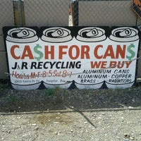 Photo taken at J & R Recycling by Brian A. on 4/7/2012