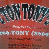 Photo taken at 2 Ton Tony's by Steven M. on 12/21/2011