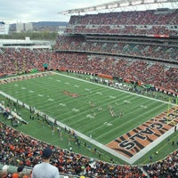 Photo taken at Paul Brown Stadium by Holly S. on 11/13/2011