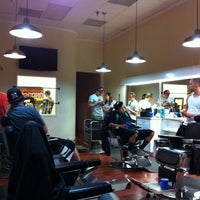 Photo taken at Rosewood Barbershop II by Ryan S. on 7/28/2011