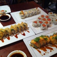 Photo taken at Kabuki Japanese Restaurant by Megan on 1/11/2011