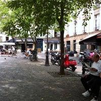 Photo taken at Place du Marché Sainte-Catherine by jeffrey g. on 8/22/2011