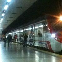 Photo taken at Estación de San Bernardo by SevillaEnBici on 11/14/2011