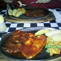 Photo taken at Obonk Steak - Lubang Buaya by Zaki J. on 9/18/2011
