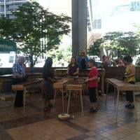 Photo taken at World Trade Center Farmers Market by Jeri B. on 7/26/2012