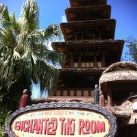 Photo taken at Walt Disney's Enchanted Tiki Room by Kathryn G. on 4/8/2012