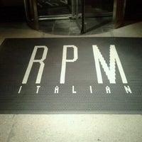 รูปภาพถ่ายที่ RPM Italian โดย Maria D. เมื่อ 6/27/2012