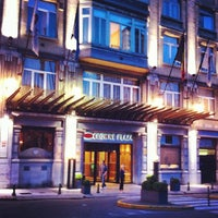 Photo taken at Crowne Plaza Brussels Le Palace by Kopeyschik on 8/29/2012