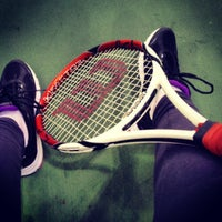 Photo taken at Daulet National Tennis Centre by Алинур on 5/18/2013