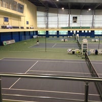 Photo taken at Daulet National Tennis Centre by Алинур on 5/21/2013