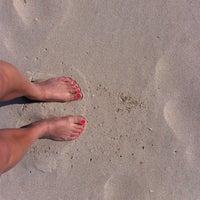 Photo taken at Пляж by Юлия☕Андреева on 7/2/2013