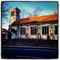 Photo taken at St Cuthbert's Church by Martin H. on 1/2/2014