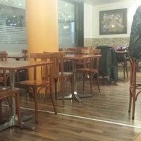 Photo taken at Kaffi Sandwich by Pascal G. on 2/13/2014
