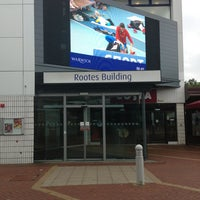 Снимок сделан в Rootes Social Building пользователем Darron h. 8/15/2013