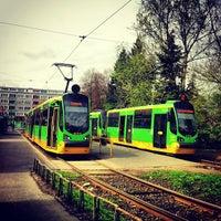 Photo taken at Pętla Ogrody by Mateo on 4/28/2013