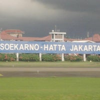 Photo taken at Soekarno-Hatta International Airport (CGK) by Cherlie A. on 7/11/2013