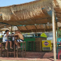 Photo taken at Beach Loca Bar by Georakos G. on 7/4/2015