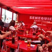 Photo taken at Senequier by Kyrian V. on 6/5/2013