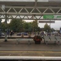 Photo taken at Horsham Railway Station (HRH) by Yulia on 9/27/2014