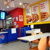 Photo taken at Domino's Pizza by Shahrul R. on 3/1/2013