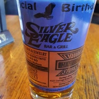 Photo taken at Silver Eagle Bar & Grill by Jeff on 9/30/2015