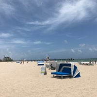 Photo taken at Pompano Beach Pier by Márcio on 6/20/2017