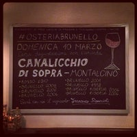 Foto tirada no(a) Osteria Brunello por Osteria B. em 3/8/2013