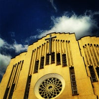 Photo taken at National Shrine of Our Mother of Perpetual Help (Redemptorist Church) by Tricia C. on 4/13/2013