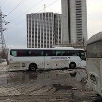Снимок сделан в Автостанция «Партизанская» пользователем Rostislav D. 12/1/2012