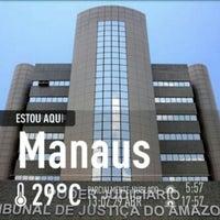 Photo taken at Tribunal de Justiça do Estado do Amazonas - TJAM by Rai E. on 4/29/2013