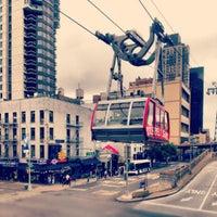 Photo taken at Roosevelt Island Tram (Manhattan Station) by Emre W. on 9/29/2012