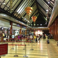 Photo taken at Siem Reap International Airport (REP) by Batuhan on 2/13/2013