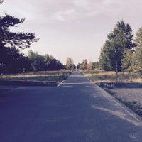 Photo taken at Hans-Baluschek-Park by Cornell P. on 8/14/2015
