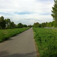Photo taken at Hans-Baluschek-Park by Cornell P. on 5/16/2013