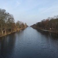 Photo taken at Mäckeritzbrücke by Cornell P. on 3/25/2015