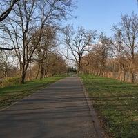 Photo taken at Hans-Baluschek-Park by Cornell P. on 4/10/2015