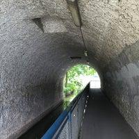 Photo taken at Lietzenseebrücke by Cornell P. on 7/27/2016