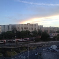Photo taken at Gare SNCF de Nice Saint-Augustin by Angelo on 9/20/2013