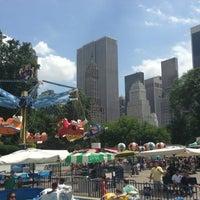 Photo taken at Victorian Gardens Amusement Park by Duygu Y. on 7/6/2013