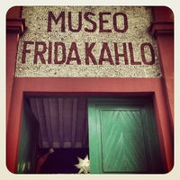 Photo taken at Museo Frida Kahlo by Héctor S. on 6/14/2013