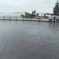 Photo taken at Frankenstorm Apocalypse - Hurricane Sandy by Dan on 10/29/2012