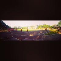 Photo taken at Saparua Running Track by Sendythias P. on 8/23/2013