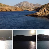 Photo taken at Campi Beach by Cagri B. on 8/9/2015