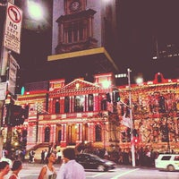 Photo taken at Sydney Town Hall by Daryll J. on 12/16/2012